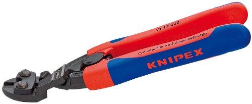 KNIPEX 71 22 200 SBA Comfort Grip Angeled Highleverage Cobolt Cut