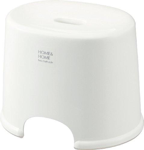リス『防カビ加工』 H&H 風呂椅子 250 ホワイト
