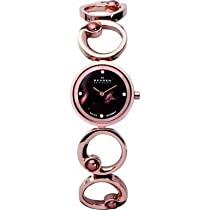Skagen Rose Gold Tone Bracelet Watch 889Srxr