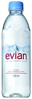 エビアンは洋食におすすめの硬水ミネラルウォーター