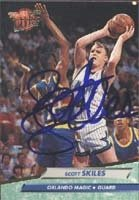 Scott Skiles Orlando Magic 1993 Fleer Ultra Autographed Hand Signed Trading Card. by Hall+of+Fame+Memorabilia
