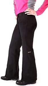 Ladies Allure Curling Pants - Black, Size LRG