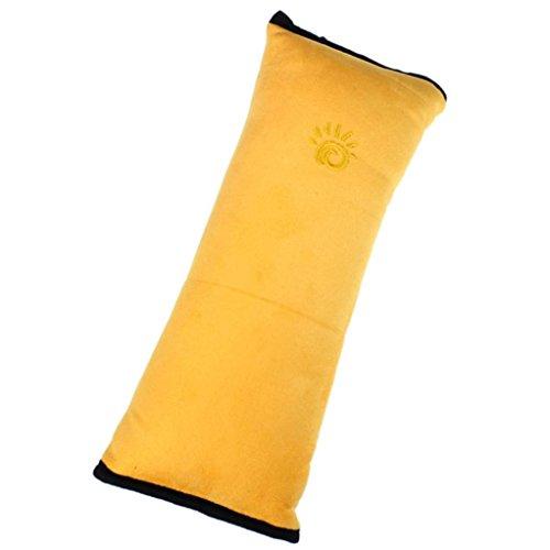 Generic® Baby-Kinder-Autositz Sicherheitsgurt Schulterabdeckung Kissen(Gelb)
