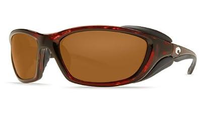 Costa Del Mar Man O War Men's Polarized Sunglasses, Tortoise/Gray 580P, Extra Large