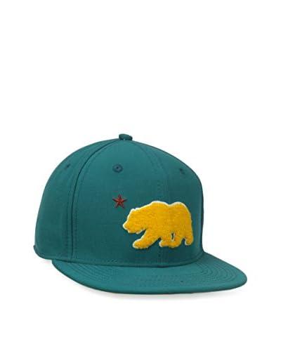 Levi's Men's Chenille Bear Wool Snapback Hat, Teal
