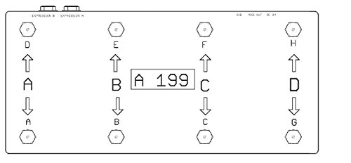 Disaster Area Designs DMC-8D MIDI Foot Controller Strymon、Eventide、Line6などに対応するMIDIコントローラー ディザスターエリアデザインズ ディーエムシーエイトディー 国内正規品