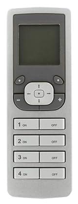 RF Handheld Remote Controller Programmer/Timer, Gray, VRCPG-0SG