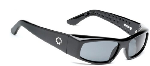 Spy MC Sunglas - Black Gloss / Grey - Regular