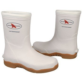 RUGGED SHARK Men's Great White (White 10.0 M)