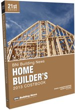 BNI Home Builders Costbook 2013 - Building News - BN-Builders - ISBN: 1557017662 - ISBN-13: 9781557017666