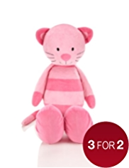 Jumbo Cara Cat Soft Toy