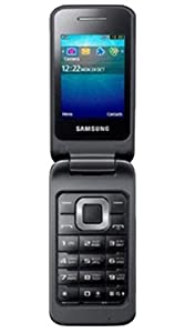 Samsung C3520 Mobile Phone on O2 Pay As You Go / Pre-Pay / PAYG (Including £10 Airtime) - Black