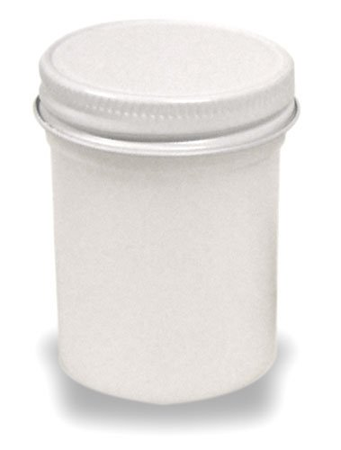 Plastic Jar With Convenient Screw-top Lid Holds Liquids Or Small Parts, 2 oz. Size (Lot/20)