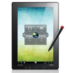 Lenovo ThinkPad 183827U 10.1' 64 GB Tablet Computer - Wi-Fi - NVIDIA Tegra 2 T250 1 GHz - Black. THINKPAD TABLET NVIDIA TEGRA 2 1G 1GB 64GB 10.1IN WL DROID 3.1 PEN TAB-PC. Multi-touch Screen 1280 x 800 WXGA Display - 1 GB RAM - NVIDIA ULP GeForce Graphics Card - Bluetooth - Webcam - Android 3.1 - 8.70 Hour Battery - HDMI