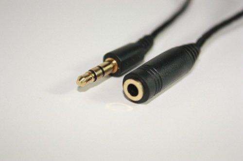 3-M-Haut-parleur-stro-pour-casque-Audio-Extension-Aux-Cble-Cble-jack-35-mm-Dor-UK