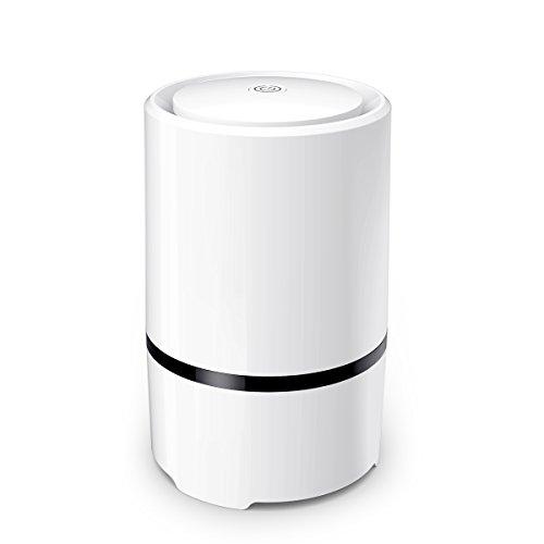 Best Portable Air Cleaners : Wsta desktop air purifier ionizer portable