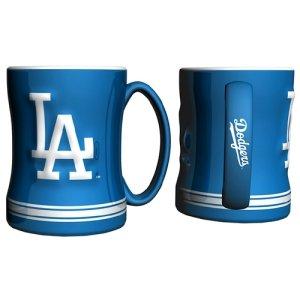 Los Angeles Dodgers MLB Coffee Mug - 15oz Sculpted (Single Mug)