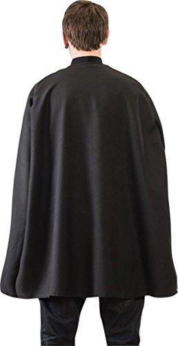 Black Superhero Cape (One Size Fits All)