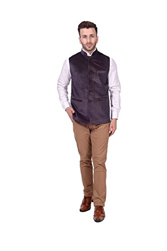 Lee Marc Jute Men's Grey Blazer(LEMC24_44)  available at amazon for Rs.850