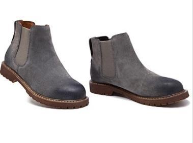 XIUSHANG Donna autunno e inverno stivali di pelle, bassa superiore alla moda stivaletti stivali da moto , gray , 39