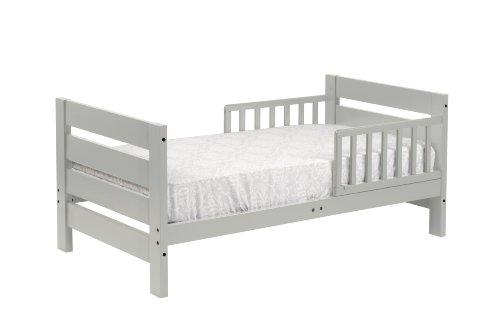 Davinci Modena Toddler Bed, Grey front-162716