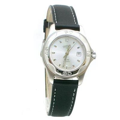 Certina Ladies DS40 Sports Black Leather Watch C25070264216 / C-250.7026.42.16