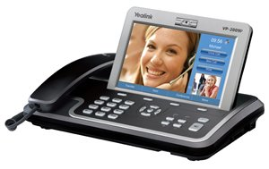 New Cortelco Yealink Ip Media Phone Poe Touch Screen 7 Inch Tft-Lcd 800x480 Pixels Sip 2.0 Protocol
