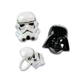 Star Wars Molded Party Rings 12 count