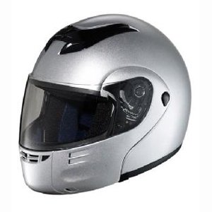 Hawk Modular Helmet - Silver - Medium
