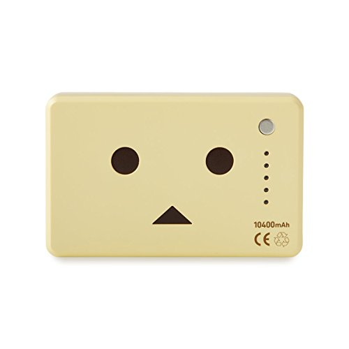 cheero Power Plus 10400mAh DANBOARD Version - FLAVORS - (vanilla) 大容量 モバイルバッテリー [ 高品質Sanyo/Panasonic電池搭載 ]  iPhone 6 6Plus 5s 5c 5 / iPad / Android / Xperia / Galaxy / 各種スマホ / タブレット/ ゲーム機 / Wi-Fiルータ 等 急速充電 対応