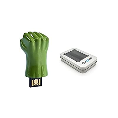 Quace Green Hand Fancy USB Flash 16 GB Pen Drive