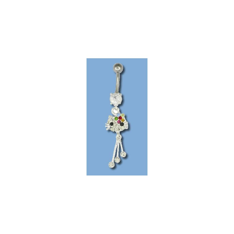 Hanging Hello Kitty Belly Button Ring On Popscreen