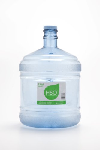 H8O Polycarbonate Water Bottle (with Handle) with 48mm Cap, 2 gallon (2 Gallon Bottle compare prices)