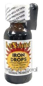 La Sante Iron Drops 1 oz by Levine Health Products