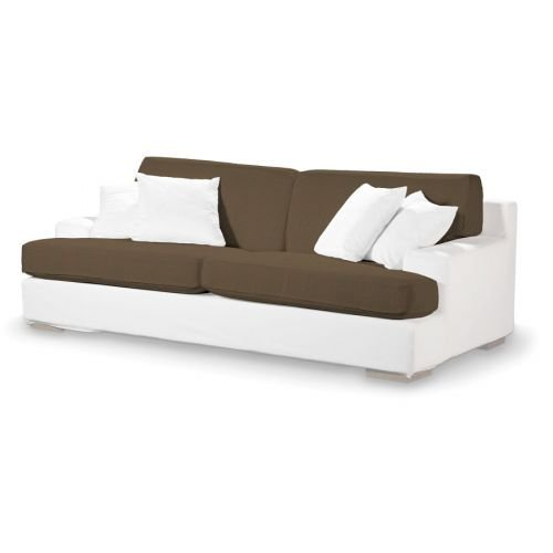 4-tlg. Sofa-Bezug-Set Edinburgh Farbe: Braun