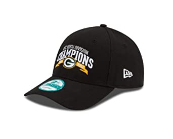 NFL Green Bay Packers 2012 NFC North Division Champs 940 Adjustable Cap, Black, One Size Fits All by New Era