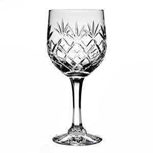 Pauline hand cut lead crystal large red wine glass amazon How can i cut glass at home