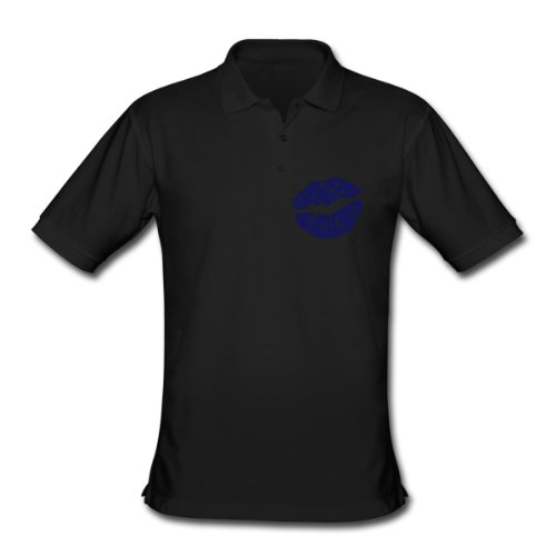 Spreadshirt, Men's Classic Polo Shirt, black, M