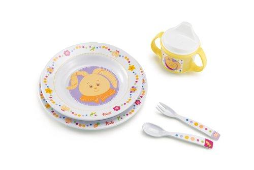 Trudi Bon Appetit Gift Set, Bunny, Newborn