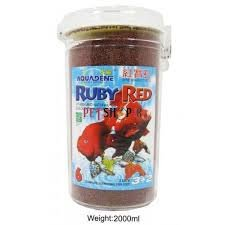 Ruby Red - 2 Liter - Red Parrot - Lion Head Gold Fish - Imported - Aquarium