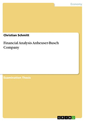 financial-analysis-anheuser-busch-company