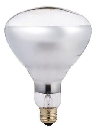 Phillips 416743 Heat Lamp 250-Watt BR40 Clear Flood Light Bulb