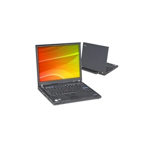 IBM ThinkPad T60 Intel Core Duo Laptop with AC Adapter, Windows XP w/ Disc; Dual Core Computer