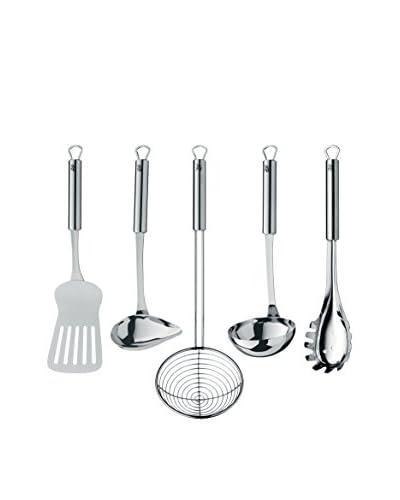 WMF Profi Plus 5-Piece Kitchen Gadget Set, Grey