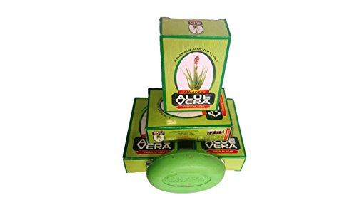 Dhara's Aloeveera Soap, 75 Ml (pack Of 5)