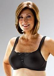 Classique Molded Pocket Bra (mastectomy bra) #720 (Black) (42A)