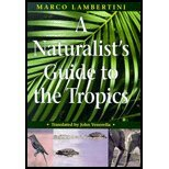 Naturalists Guide to the Tropics (00) by Lambertini, Marco [Paperback (2000)]