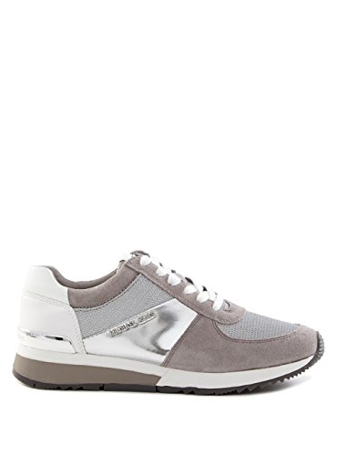 Michael Kors Sneaker Allie Trainer Silver Pgry 38.5