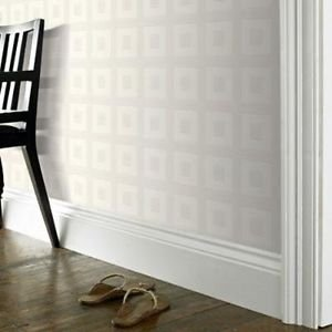 Superfresco Grid Wallpaper - White from New A-Brend