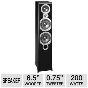 Why Choose The Infinity Primus P363 Three-way dual 6-1/2-Inch Floorstanding Speaker (Black, Each)